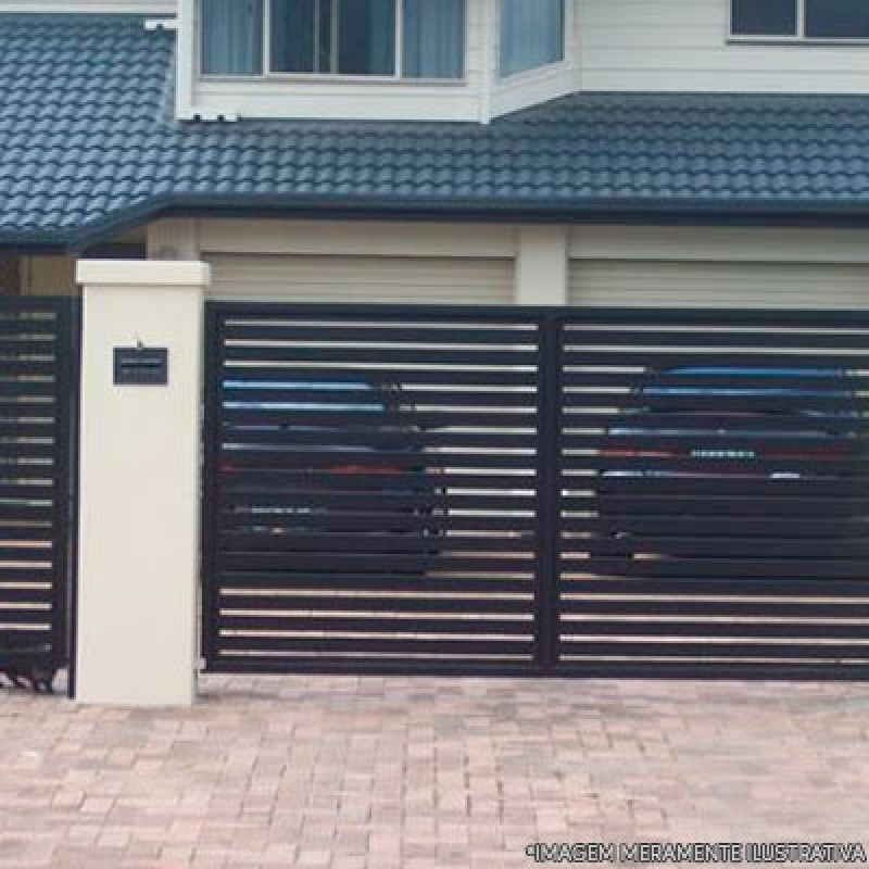 Comprar Portão Aço Galvanizado Jardim Rodolfo Pirani - Portão Aço Galvanizado