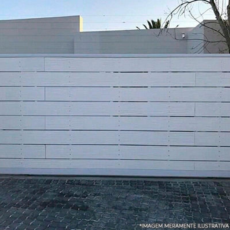 Comprar Portão Aço para Garagem Jardim Santo Alberto - Portão de Aço