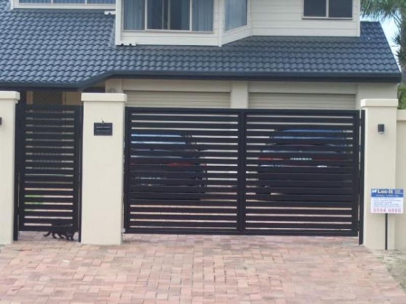 Comprar Portão de Aço Galvanizado Vila Gilda - Portão em Aço Galvanizado