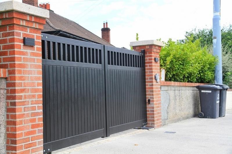 Comprar Portão em Aço Vila Scarpelli - Portão de Aço para Comércio