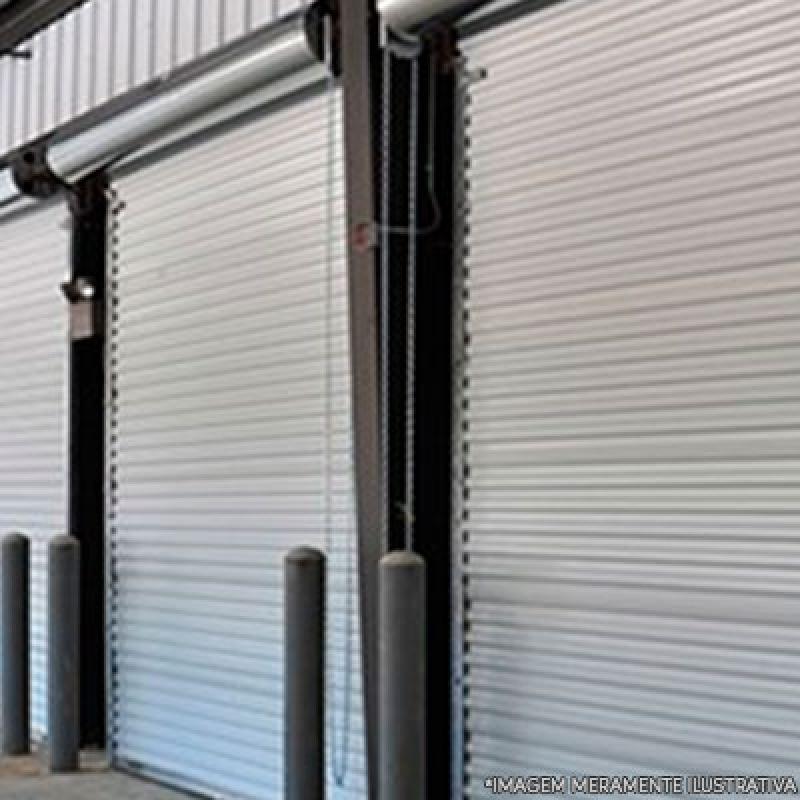 Empresa de Porta de Aço Motorizada Jardim Calux11 - Porta de Aço Reforçado