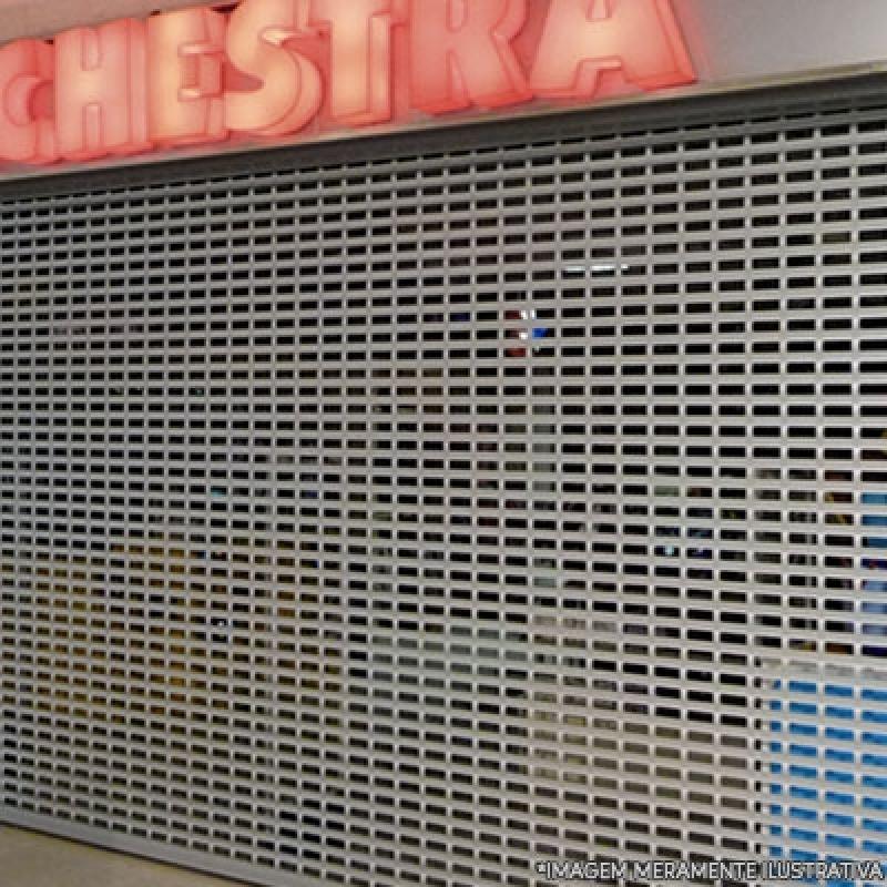 Empresa de Porta de Loja de Enrolar Jardim Esther - Porta para Loja