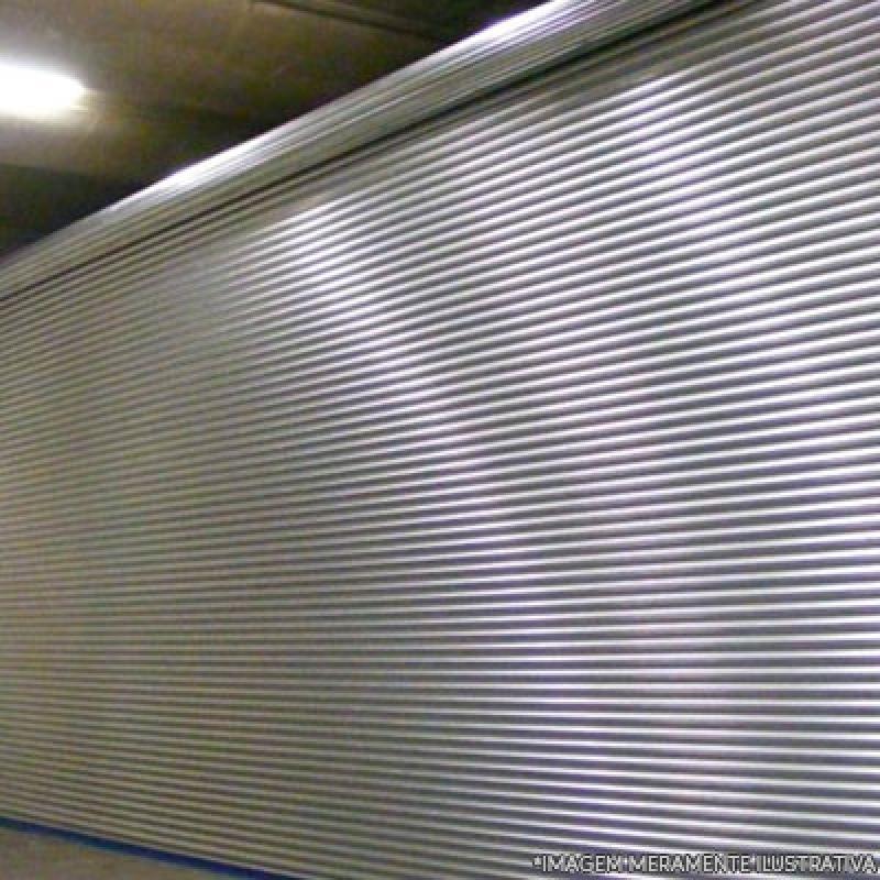 Loja de Porta Enrolar Aço Jardim Calux11 - Porta Loja Enrolar