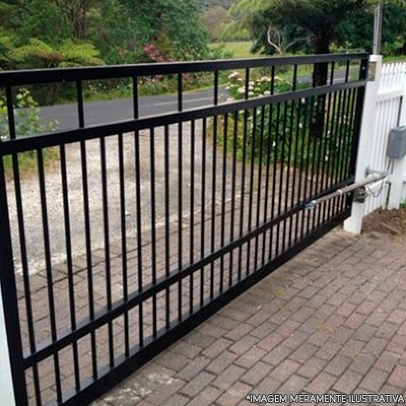 Onde Vende Portão Automático Aço Jardim Cinco de Julho - Portão Automático em Aço