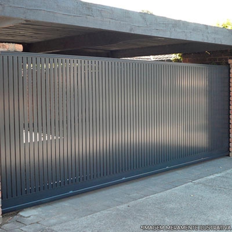 Onde Vende Portão Automático para Garagem Vila Scarpelli - Portão Automático