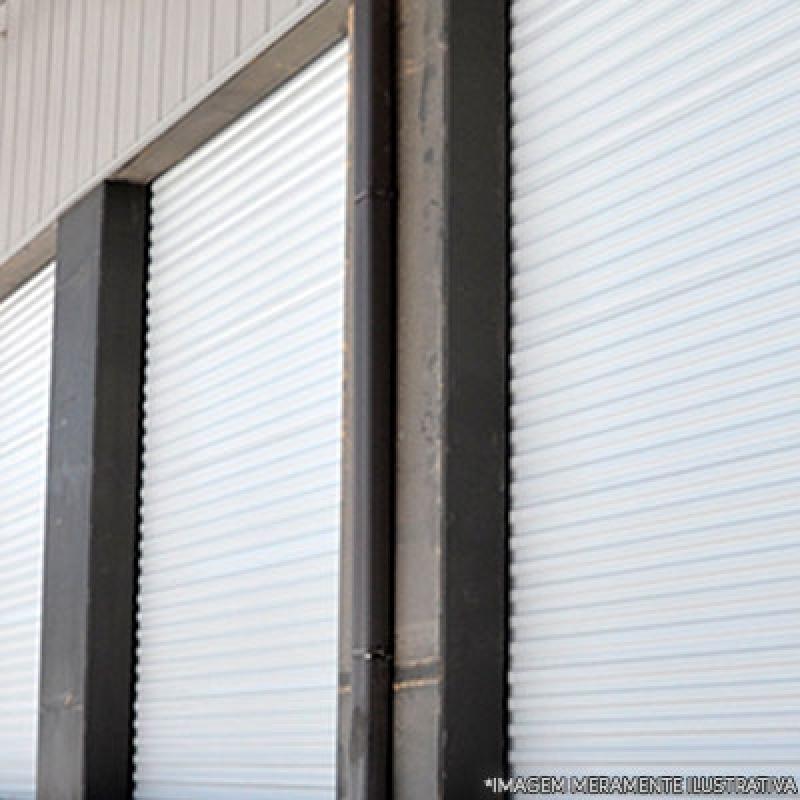 Porta de Aço Comercial Diadema - Porta de Enrolar Comercial