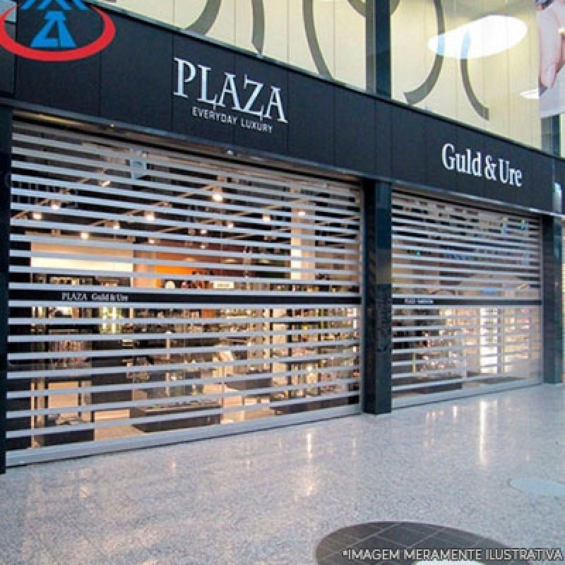 Porta de Loja Automática para Comprar Ferrazópolis - Porta para Loja