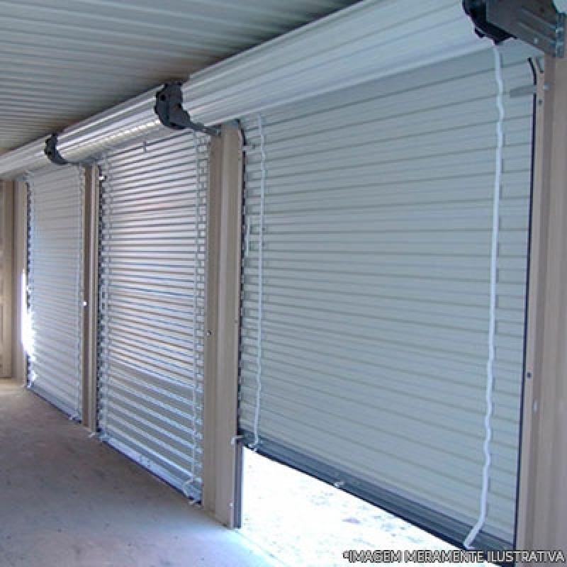 Porta Enrolar Aço Rudge Ramos - Porta de Enrolar Manual