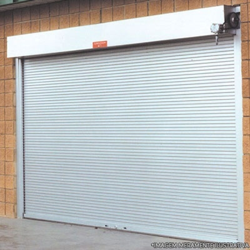 Porta Enrolar Orçamento Vila Gilda - Porta de Enrolar Industrial