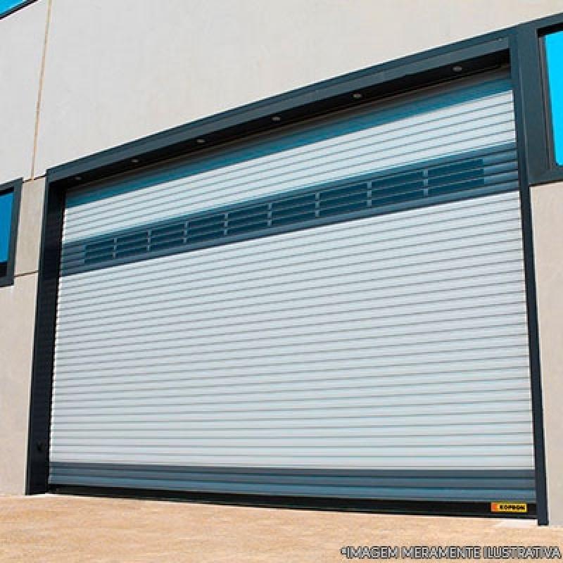 Porta para Salão Comercial Valores Jardim Sonia Maria - Porta Comercial de Enrolar