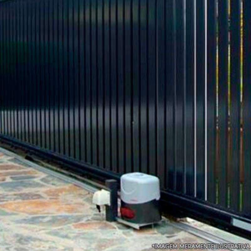 Portão Automático Garagem Preços Guaianases - Portão Automático em Aço