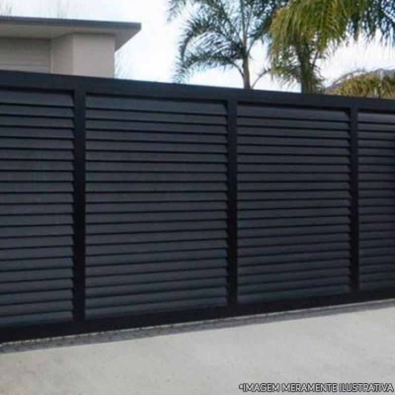 Portão Automático Garagem Vila Bela - Portão Automático em Aço