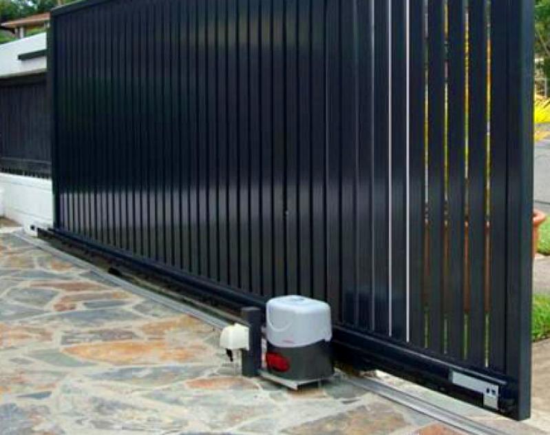 Portão de Aço Valor Jardim Sonia Maria - Portão Garagem Aço
