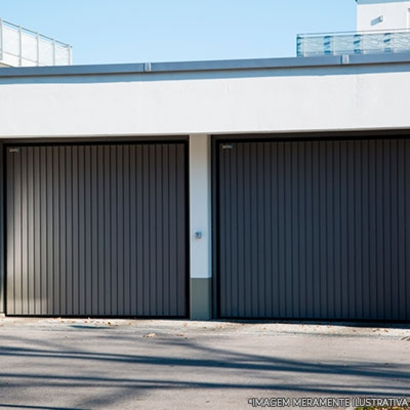 Portão Garagem Aço Baeta Neves - Portão Aço para Garagem