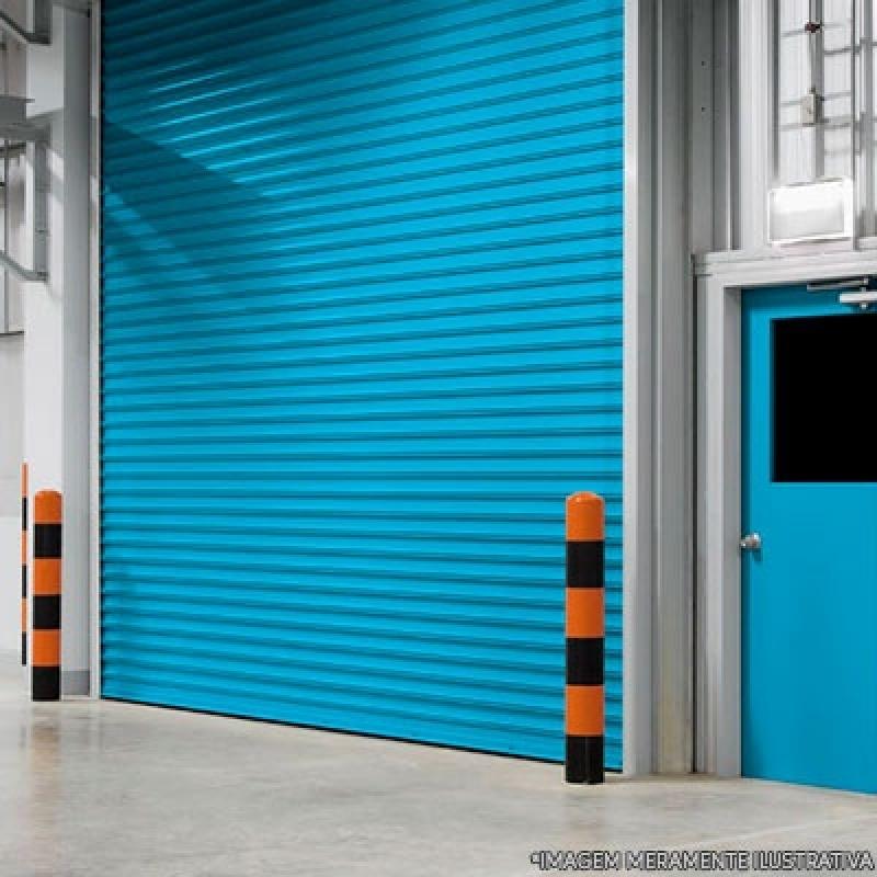 Portas de Aço Automatizadas Vila Floresta - Porta de Aço Reforçado