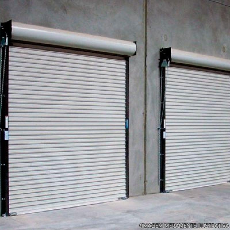 Portas de Aço de Enrolar Automáticas Vila Floresta - Porta de Aço Reforçado