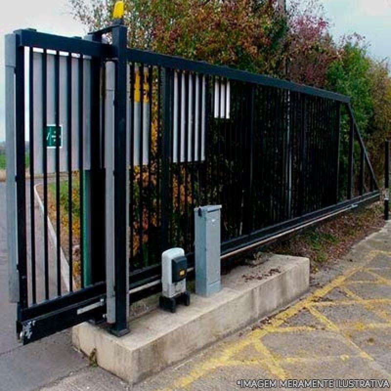 Portões Automáticos Aço Galvanizado Guaianases - Portão Automático em Aço