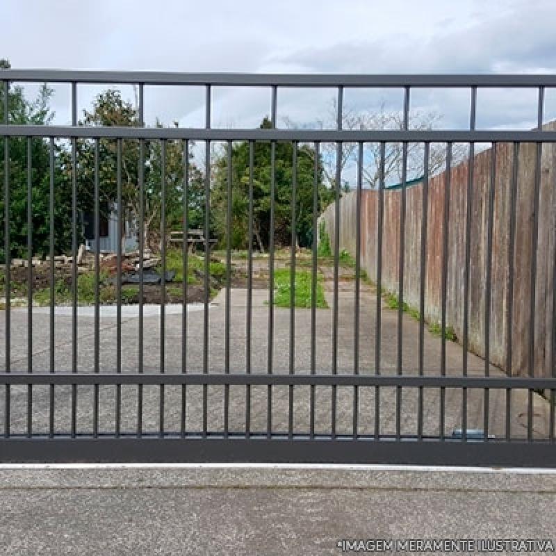 Portões de Aço para Garagem Jardim Santa Adélia - Portão Aço