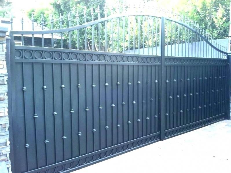 Portões em Aço São Caetano do Sul - Portão em Aço Galvanizado