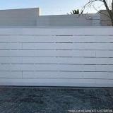 comprar portão aço para garagem Demarchi