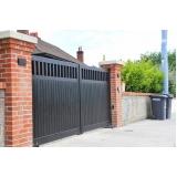 comprar portão em aço Jardim Rodolfo Pirani
