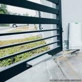 comprar portão garagem aço Jardim Pilar