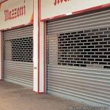 empresa de porta de loja de ferro Vila Floresta