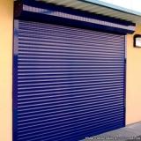 loja de porta de enrolar horizontal Jardim Ana Maria