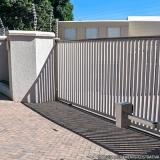 portão aço para garagem valor Jardim Pilar