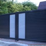 portão automático aço galvanizado preços Conjunto Habitacional Marechal Mascarenhas de