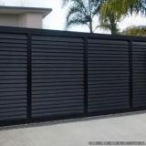 portão automático garagem Piraporinha