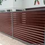 portão automático para garagem preços Vila Floresta