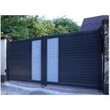portão de aço galvanizado valor Jardim Jamaica