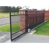 portão em aço Jardim Utinga