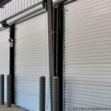 porta comercial de aço