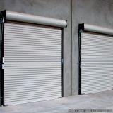 portas de aço de enrolar automáticas Jardim Rodolfo Pirani