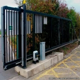 Portão Automático Aço Galvanizado