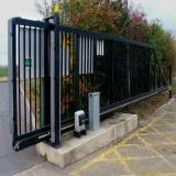 portões de aço galvanizado Piraporinha