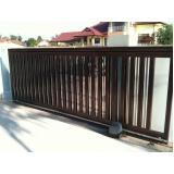 portão em aço galvanizado