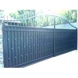 portões em aço Paulicéia