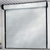venda de porta de aço de enrolar automática Vila Gilda